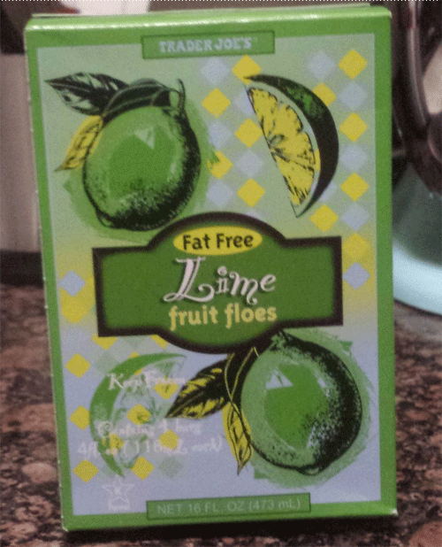 Trader Joe's Lime Fruit Floes