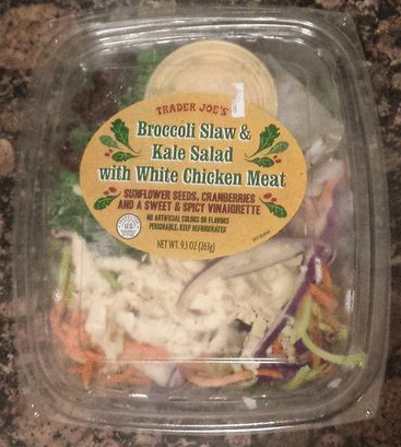Trader Joe's Broccoli Kale Chicken Salad