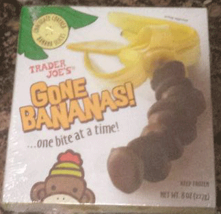 Trader Joe's Gone Bananas Chocolate Banana Slices